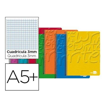 Bloc Cuarto espiral Tapa cartoncillo impreso serie Classic Liderpapel