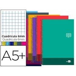 Bloc Cuarto Liderpapel serie Discover cuadricula 6 mm