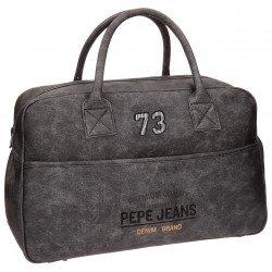Bolsa viaje 32x50x19 cm Piel Sintética Pepe Jeans Jack Gris