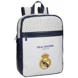 "Mochila para portátil 13,3"" Real Madrid White Piel Sintetica"