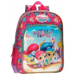 Mochila Shimmer and Shine 38x29x12 cm en Microfibra Wish Adaptable a carro