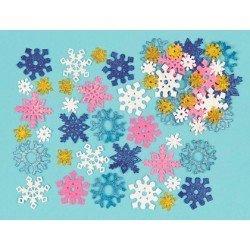 Copo Estrella Especial Navidad Foam con purpurina 5 cm