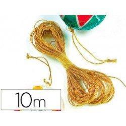 Cordon rizado color oro 10 metros itKrea