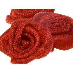 Rositas de tela color rojo marca itKrea