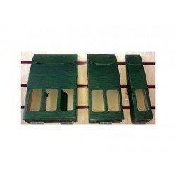 Bolsa botellero para regalo de Arguval Doble Verde