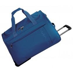 Bolsa de viaje 55x35x25 cm en Eva Movom Manhattan Azul con ruedas