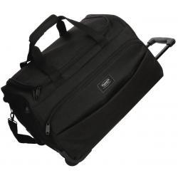 Bolsa de viaje 55x34x33 cm en Poliéster Movom Ottawa 2 ruedas Negra