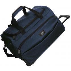 Bolsa de viaje 55x34x33 cm en Poliéster Movom Ottawa 2 ruedas Azul