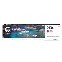 INK-JET HP JET 913A PAGEWIDE 352 / 377 / 452 / 477 / P55250 / P57750 MAGENTA 3000 PAGINAS