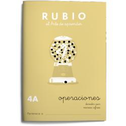 Cuaderno Rubio Matemáticas Operaciones nº 4 A Dividir por varias cifras