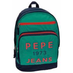 "Mochila para Portátil 15"" Pepe Jeans en Políester Reed Adaptable a carro"