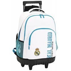 Mochila Escolar Real Madrid 45x32x21 cm con Ruedas 1 Equipación
