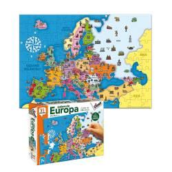Puzzle a partir de 7 años Países de Europa Diset