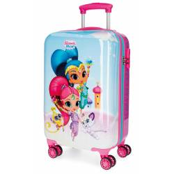 Maleta de Cabina en 55x34x20 cm Rigida Shimmer and Shine Twinsies