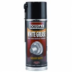 Aceite Lubricante Grasa Blanca Soudal Spray 400 ml