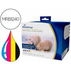 Cartucho compatible Brother LC1220/LC1240/LC1280 Multipack MRB1240