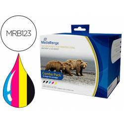 Cartucho compatible Brother LC123 Multipack MRB123
